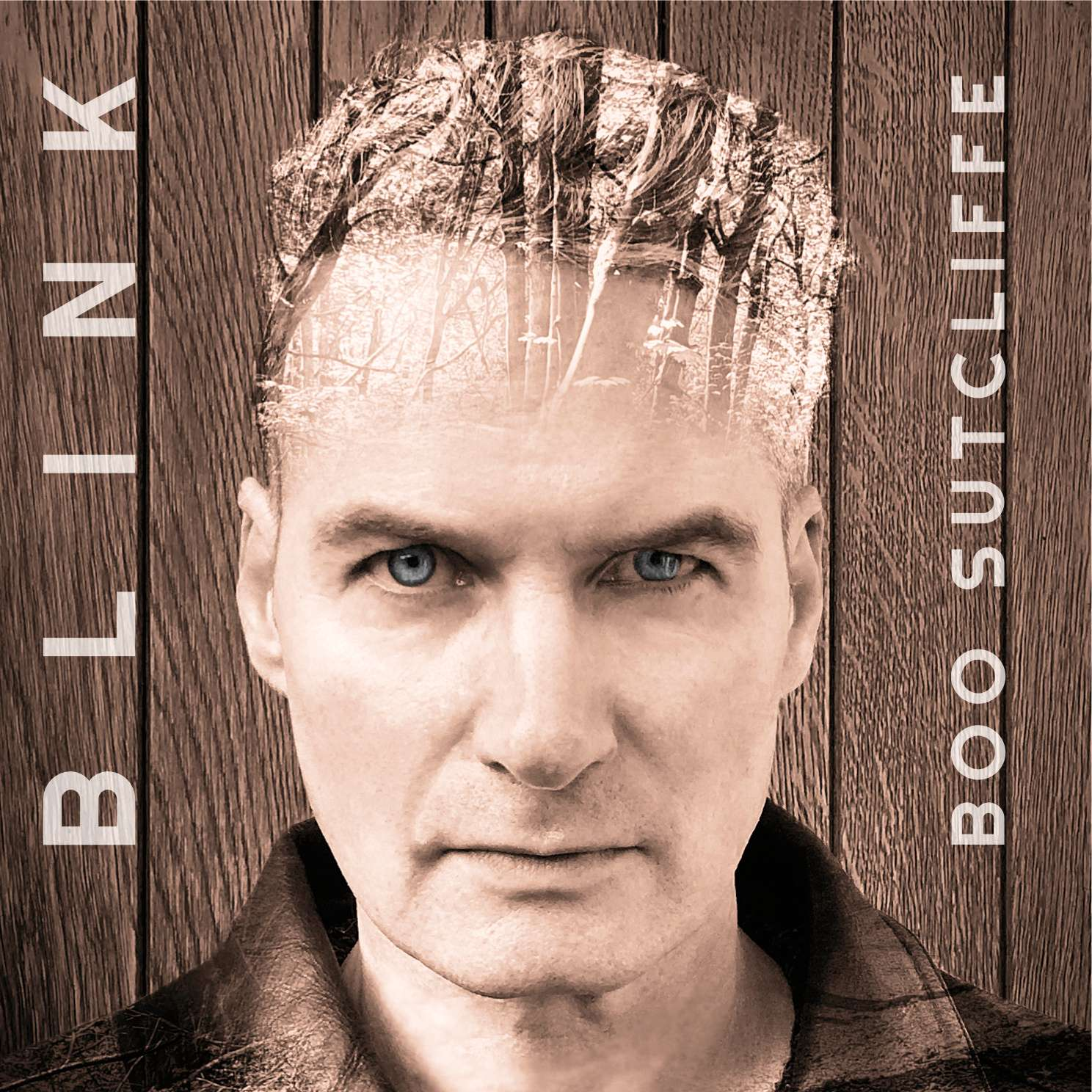 Front cover for 'Blink' album by Boo Sutcliffe.
